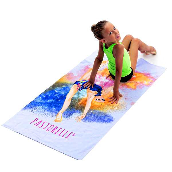 Пляжное полотенце Pastorelli Гимнастка с Мячом