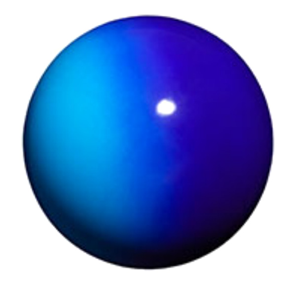Мяч 18,5 см Chacott Gradation цвет Синий Кобальт (Cobalt Blue) Артикул 728