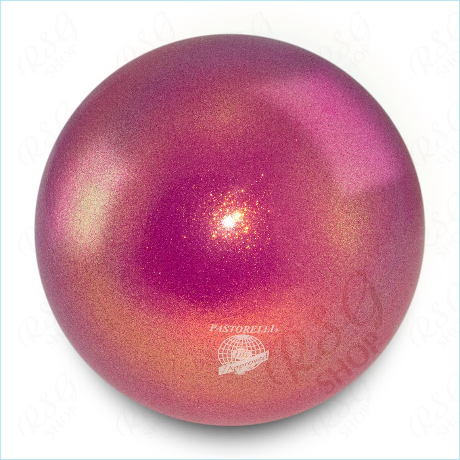 Мяч 18 см Pastorelli HV цвет Пурпурный Артикул 00037