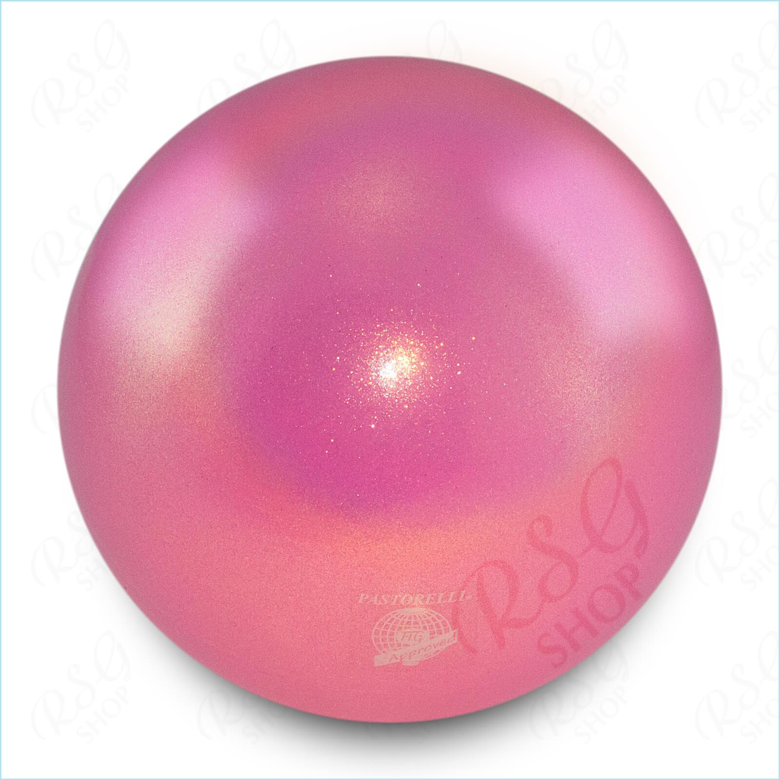 Мяч 18 см Pastorelli HV цвет Светло-Розовый Артикул 00039
