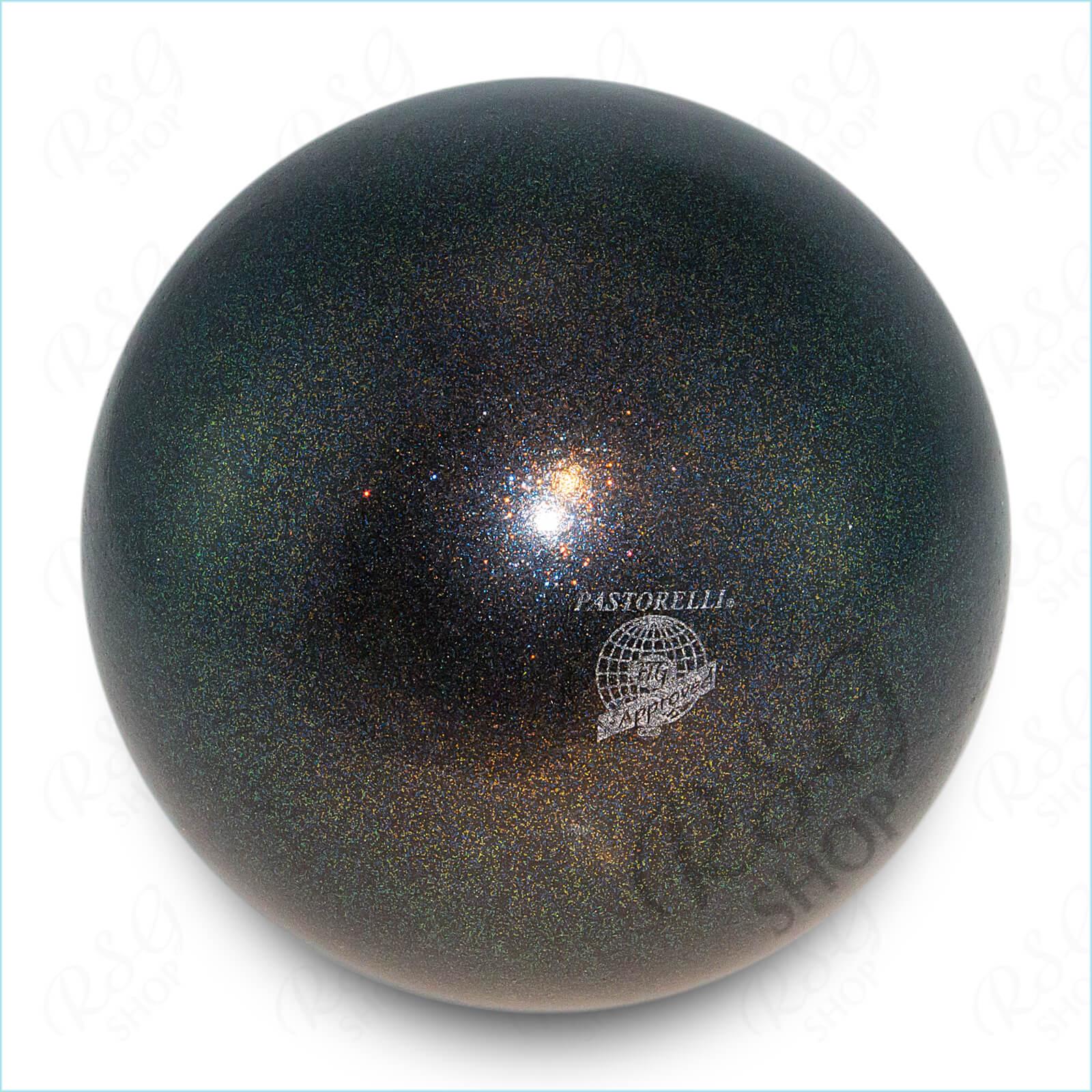 Мяч 18 см Pastorelli HV цвет Черный Артикул 02275