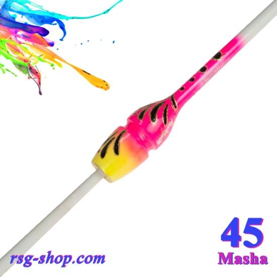 Булавы 45 см Pastorelli Harmonic цвет Белый-Розовый-Желтый Артикул 04557