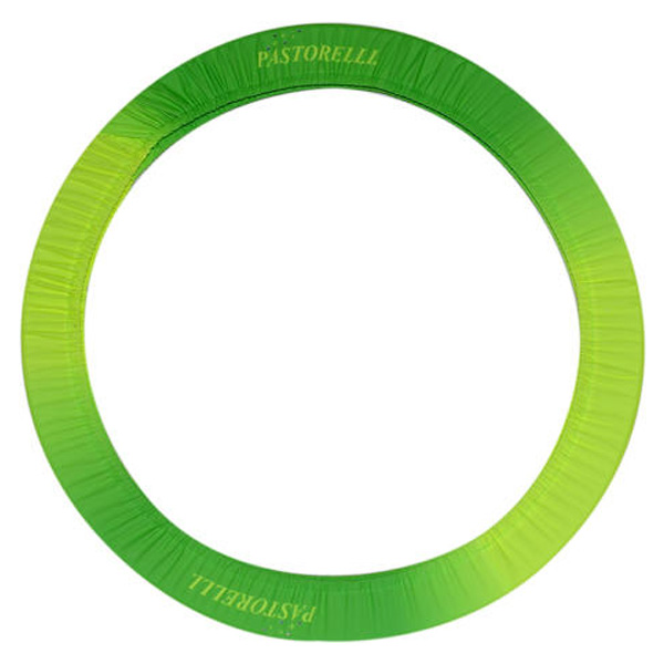 Чехол для обруча Pastorelli цвет Зелёный-Жёлтый Артикул 02186