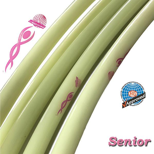 Обруч Venturelli Senior цвет Белый FIG Артикул HOP18-SR