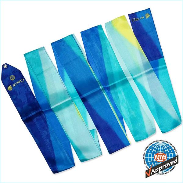 Гимнастическая лента 6 м Chacott цвет Синий Кобальт (Cobalt Blue) Артикул 228-1
