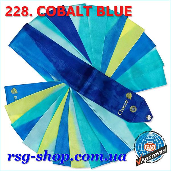 Гимнастическая лента 6 м Chacott цвет Синий Кобальт (Cobalt Blue) Артикул 228