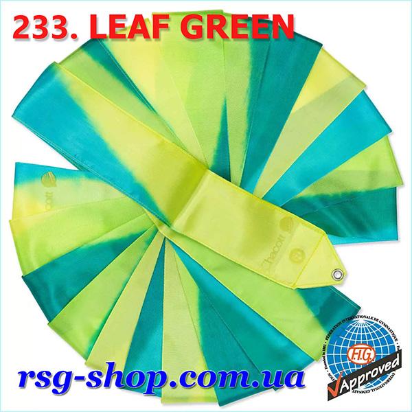 Гимнастическая лента 5м Chacott цвет Зеленый Лист (Leaf Green) 233