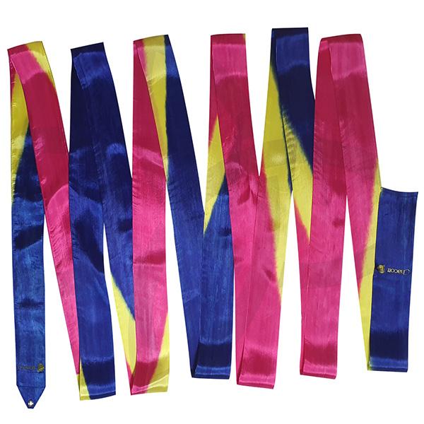 Гимнастическая лента 5м Chacott цвет Пурпурный (Magenta) Артикул 5-248-1