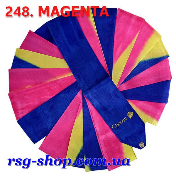 Гимнастическая лента 5м Chacott цвет Пурпурный (Magenta) Артикул 5-248