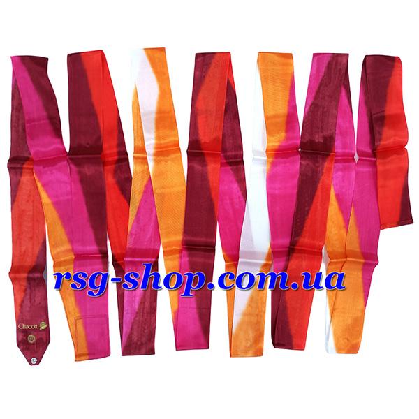 Гимнастическая лента 5м Chacott цвет Красный (Red) Артикул 5-252