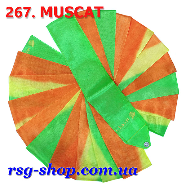 Гимнастическая лента 5м Chacott цвет Мускатный (Muscat) Артикул 5-267