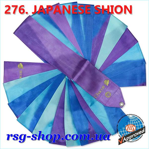 Гимнастическая лента 6 м Chacott цвет Японский Шион (Japanese Shion) Артикул 276