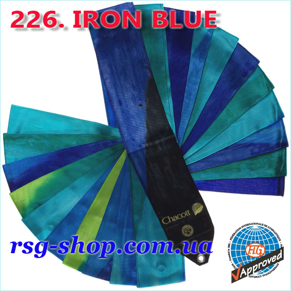 Gymnastic ribbon 5m Chacott color Iron Blue