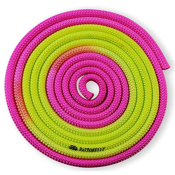 Скакалка Pastorelli New Orleans цвет Розовый-Жёлтый Артикул 04904