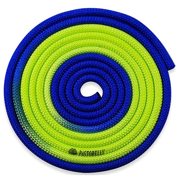 Скакалка Pastorelli New Orleans цвет Синий-Жёлтый Артикул 04905