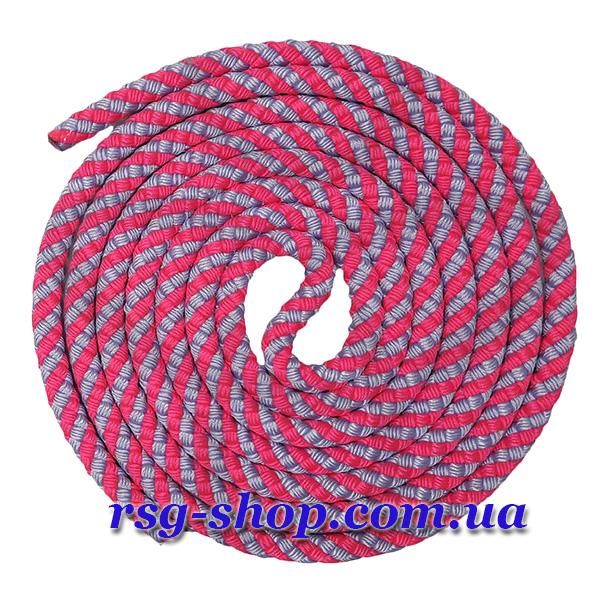 Скакалка 2,5м Sasaki MJ-243 цвет Розовый-Лаванда Артикул MJ-243-PxLD
