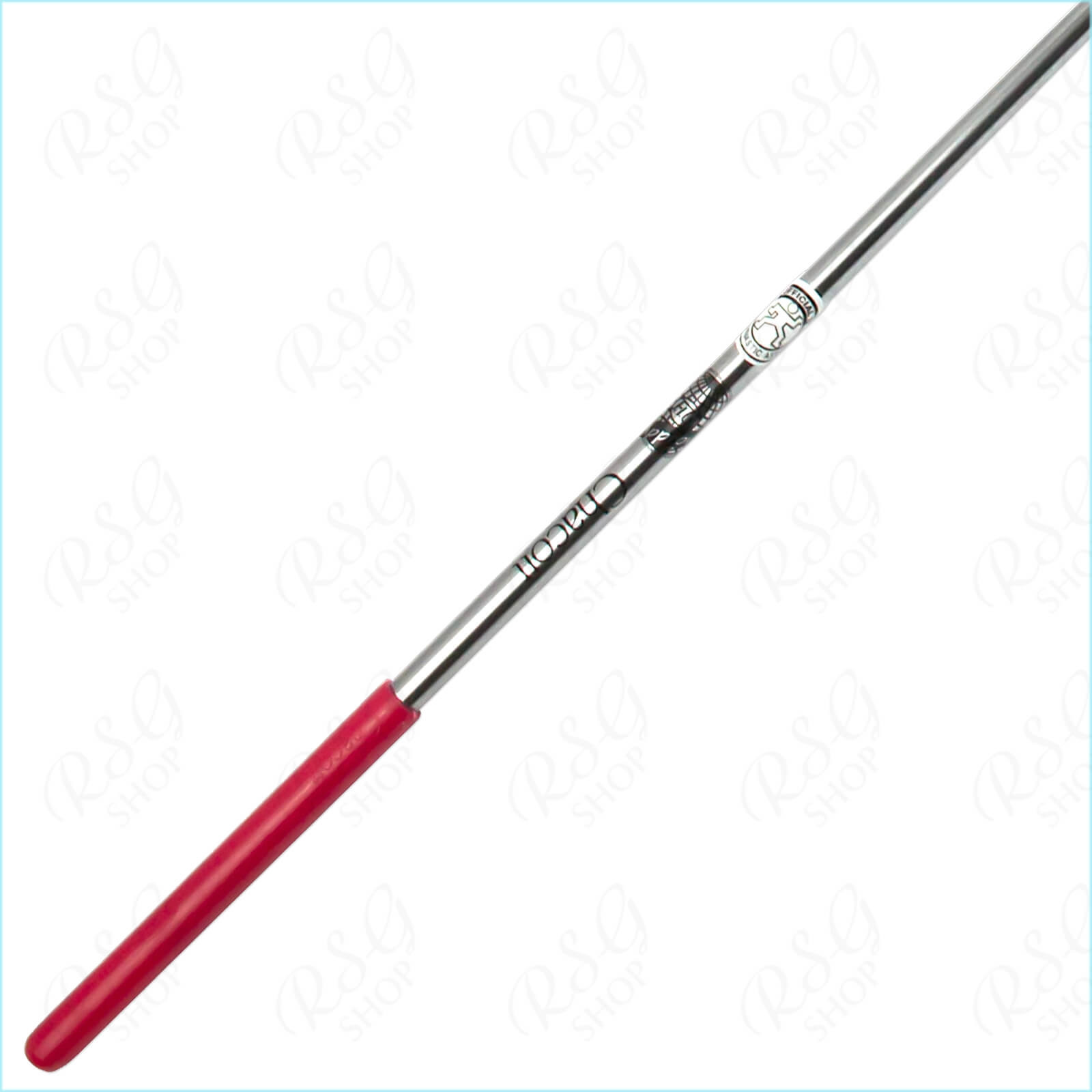 stab_chacott_fiberglass_soft_60cm_silber_metallic_red