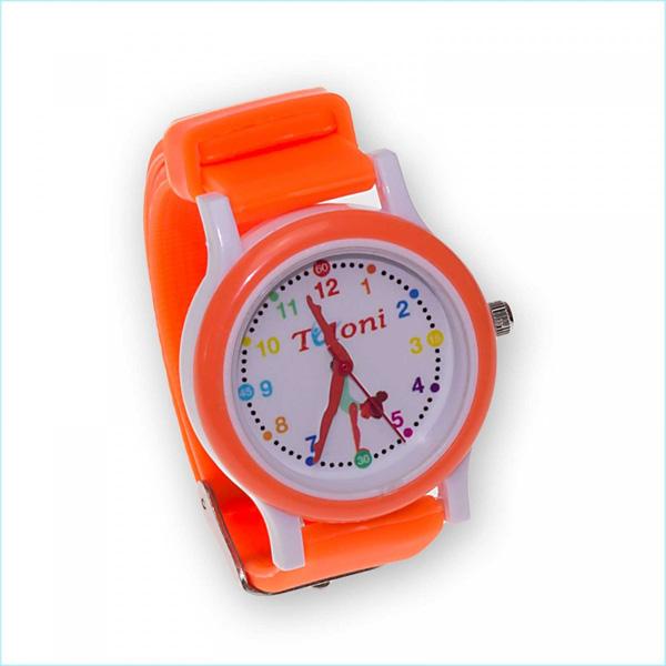 Часы Tuloni модель#1 ремешок#1 цвет Оранжевый Артикул T0201-1O
