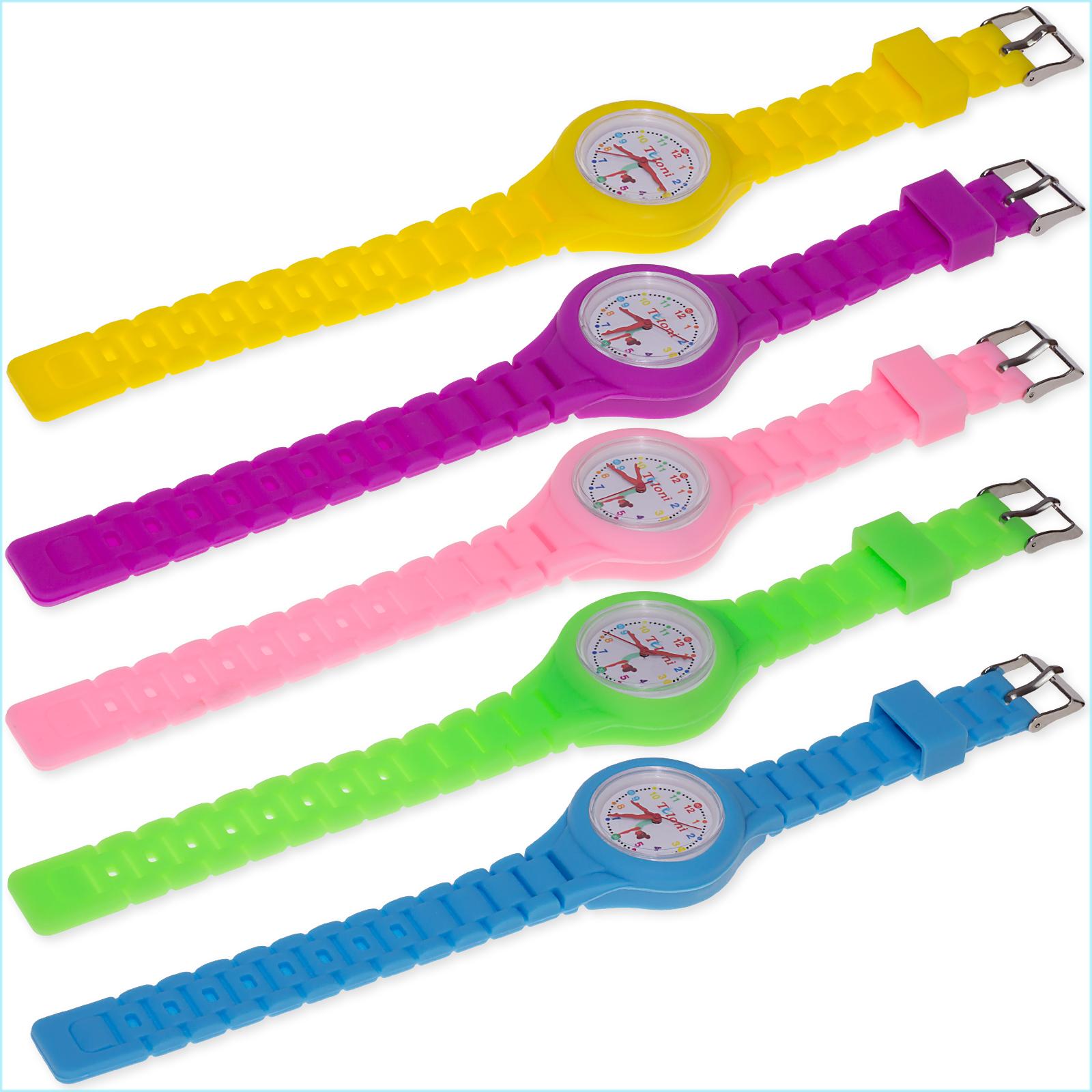 Часы Tuloni модель#1 ремешок#2 цвет Фуксия Артикул T0201-2Fu-1