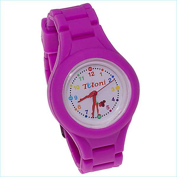 Часы Tuloni модель#1 ремешок#2 цвет Фуксия Артикул T0201-2Fu