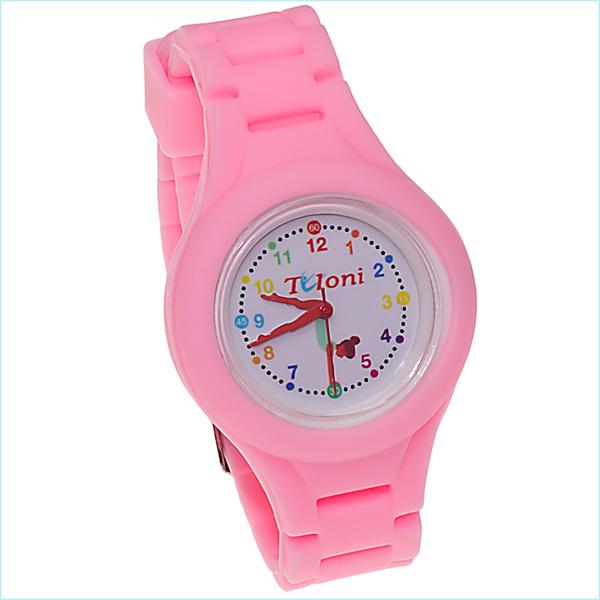 Часы Tuloni модель#1 ремешок#2 цвет Светло-Розовый Артикул T0201-2LP