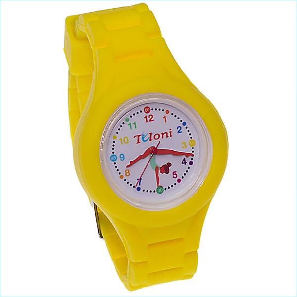 Часы Tuloni модель#1 ремешок#2 цвет Желтый Артикул T0201-2Y