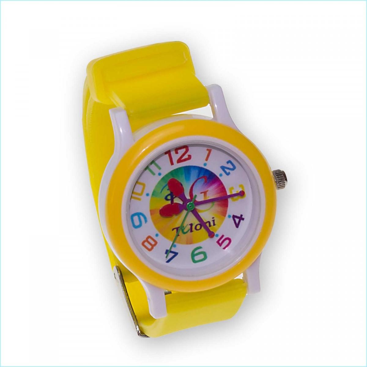 Часы Tuloni модель#3 ремешок#1 цвет Желтый Артикул T0203-1Y