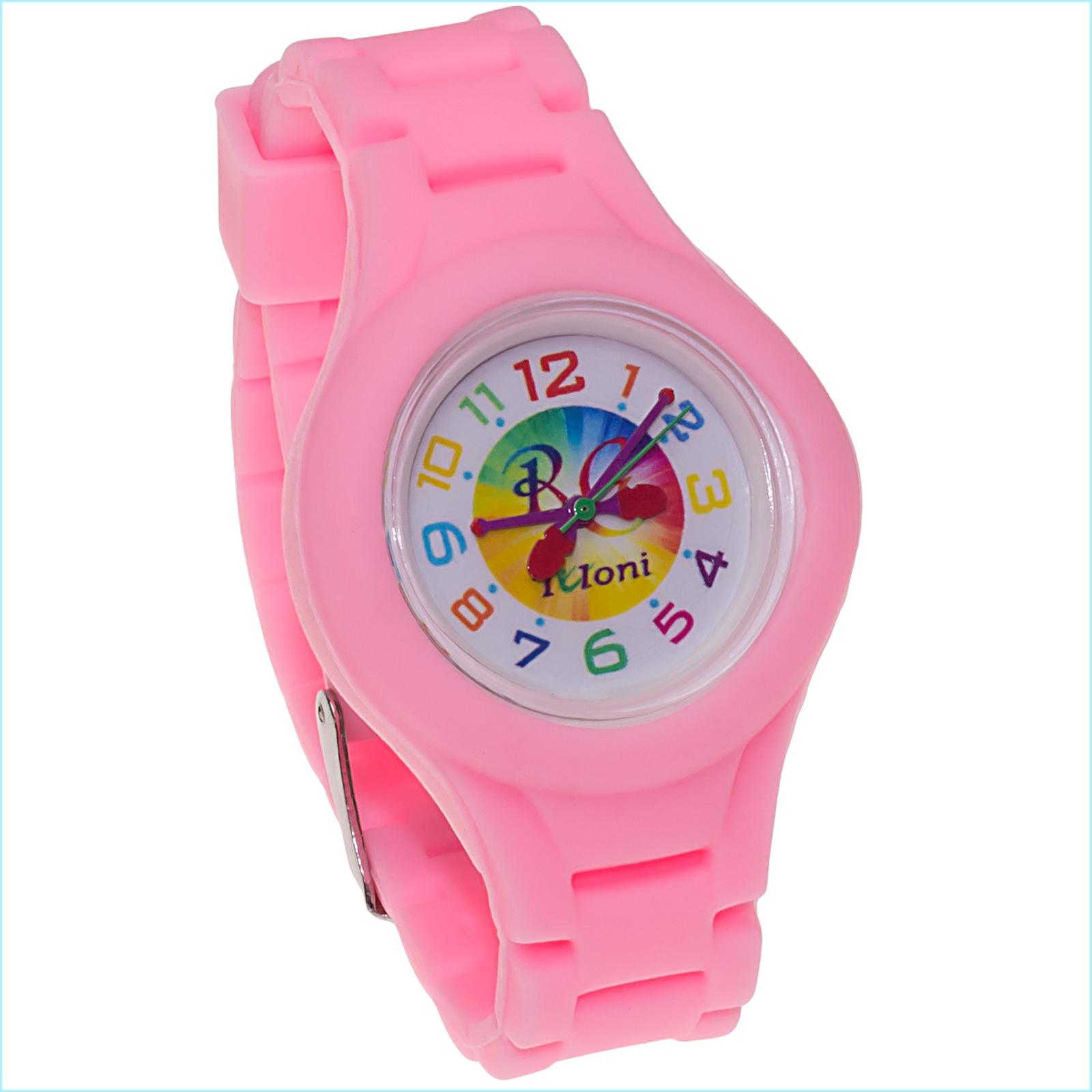 Часы Tuloni модель#3 ремешок#2 цвет Светло-Розовый Артикул T0203-2LP