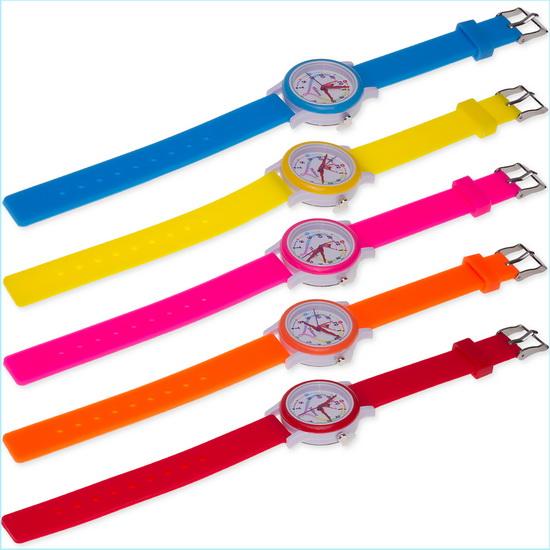 Часы Tuloni модель#4 ремешок#1 цвет Оранжевый Артикул T0204-1O-1