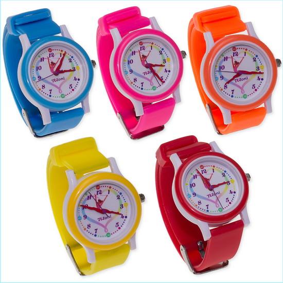 Часы Tuloni модель#4 ремешок#1 цвет Оранжевый Артикул T0204-1O-2