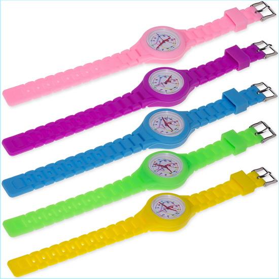 Часы Tuloni модель#4 ремешок#2 цвет Голубой Артикул T0204-2LB-1