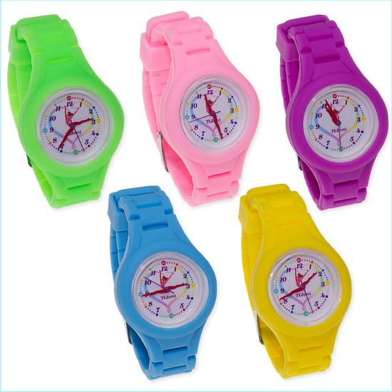 Часы Tuloni модель#4 ремешок#2 цвет Голубой Артикул T0204-2LB-2