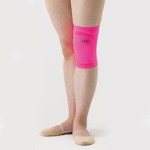 Наколенник Chacott (2 шт.) размер S (28~34 см) цвет Розовый Артикул 00678-043-1