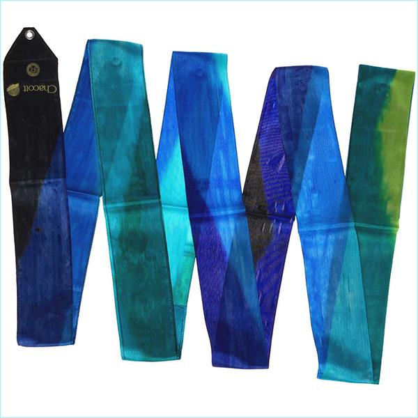 Gymnastic ribbon 5m Chacott color Iron Blue