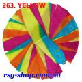 Gymnastic ribbon 6 m Chacott color Yellow Article 6-263