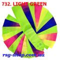 Gymnastic ribbon 6 m Chacott color Light Green Article 6-732
