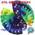 Gymnastic ribbon 6m Chacott color Black Berry Article 6-479
