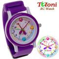 Watch Tuloni model#2 strap#1 color Violet Артикул T0202-1Vi