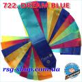 Gymnastic ribbon 5m Chacott color Dream Blue Article 5-722