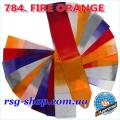 Gymnastic ribbon 5 m Chacott color Fire Orange Article 5-784