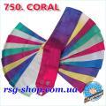 Gymnastic ribbon 5 m Chacott color Coral Article 5-750