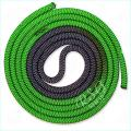 Gymnastic rope Venturelli color Black-Green Article PLDD-3002