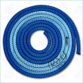 Gymnastic rope Venturelli color Blue-Turquoise Article PLDD-1011