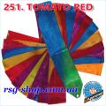 Gymnastic ribbon 5m Chacott color Tomato Red Article 5-251