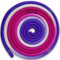 Rope 3m Pastorelli New Orleans color White-Fuchsia-Lilac FIG Article 04257